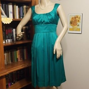 Size 4 London Times Green Cocktail Dress